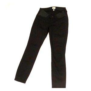 J Crew Maternity Toothpick black skinny jeans